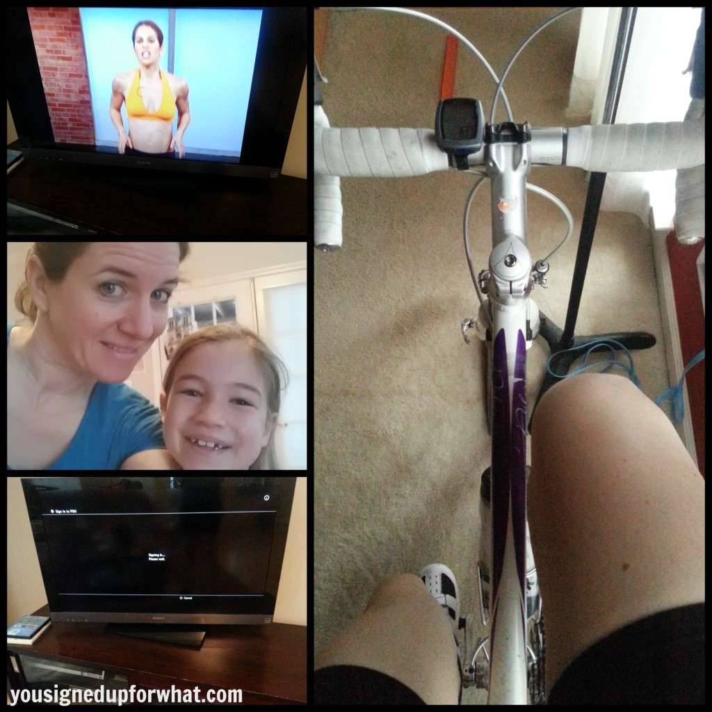 Jillian-bike collage