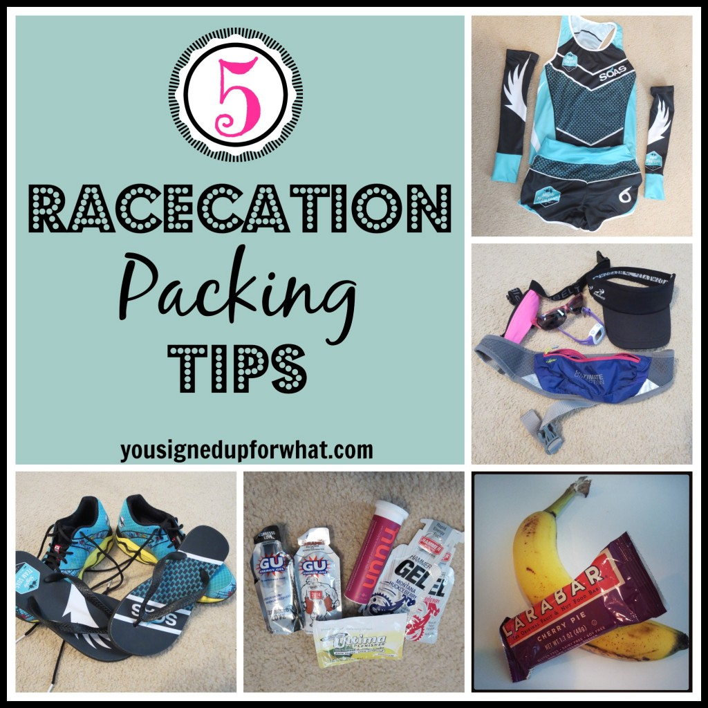 Five Racecation Packing Tips