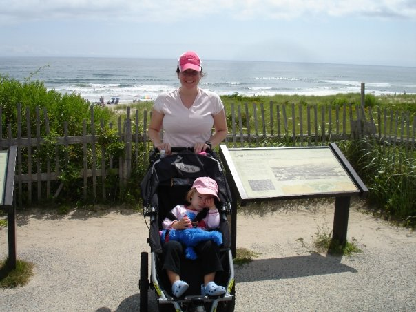 Cape Cod Run with stroller