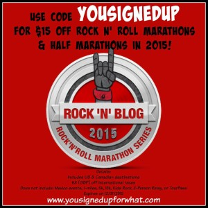 Rock n Roll marathon discount code