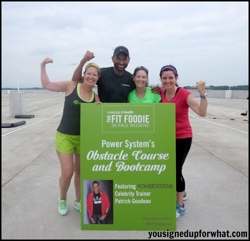 Fit Foodie Boot Camp Patrick