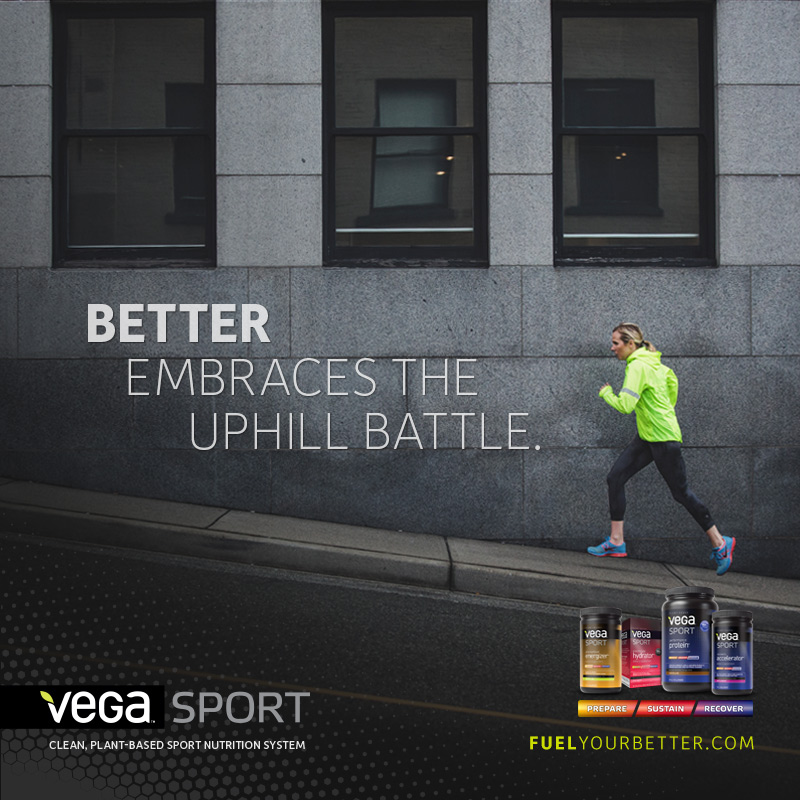 Fuel Your Better Vega Sport