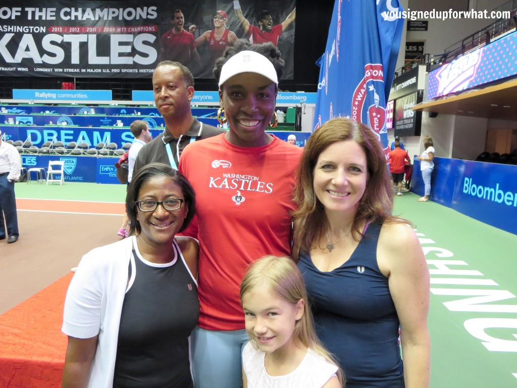 Meeting Venus Williams