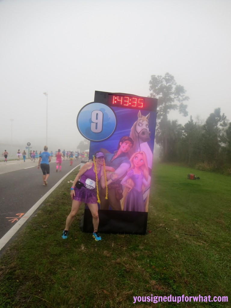 Mile 9 Princess Half