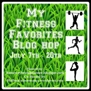 My Fitness Favorites Blog Hop Image