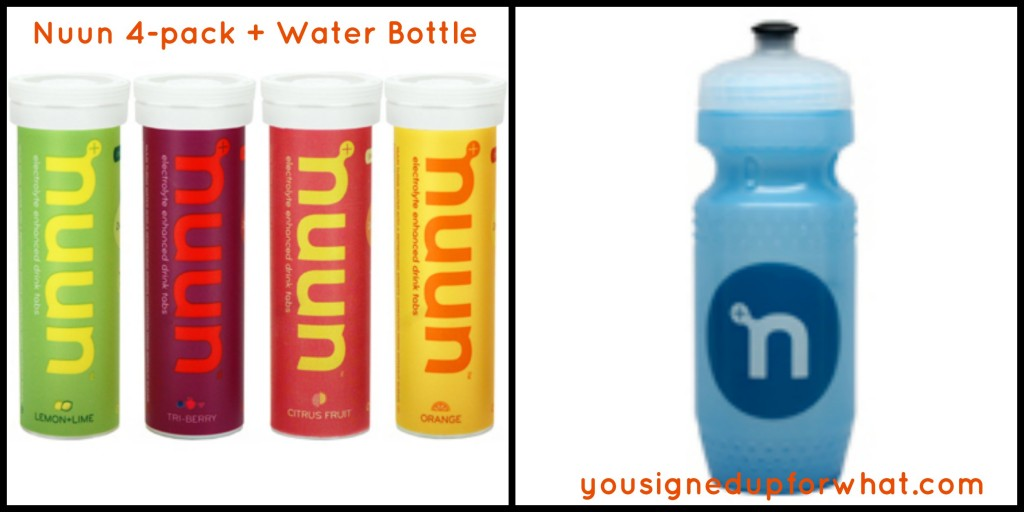 Nuun 4 pack water bottle