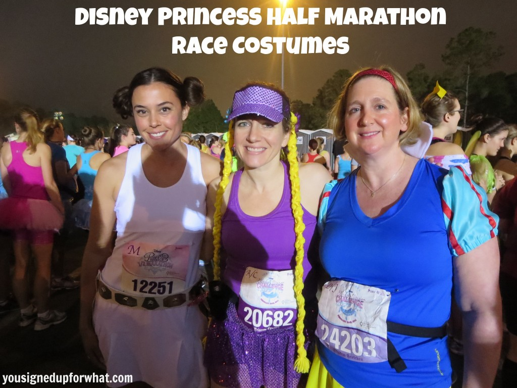 Princess Half Marathon Race Costumes