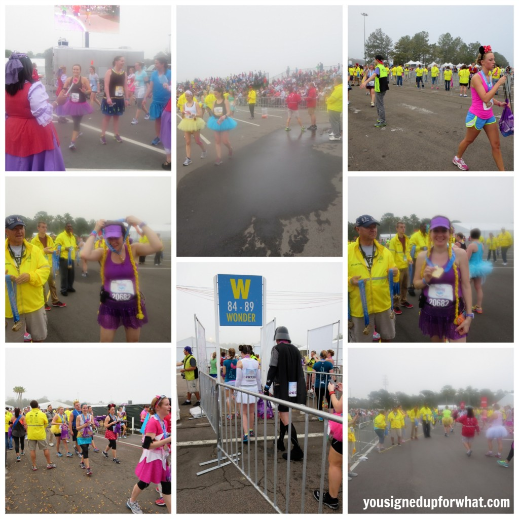Princess Half Marathon finish