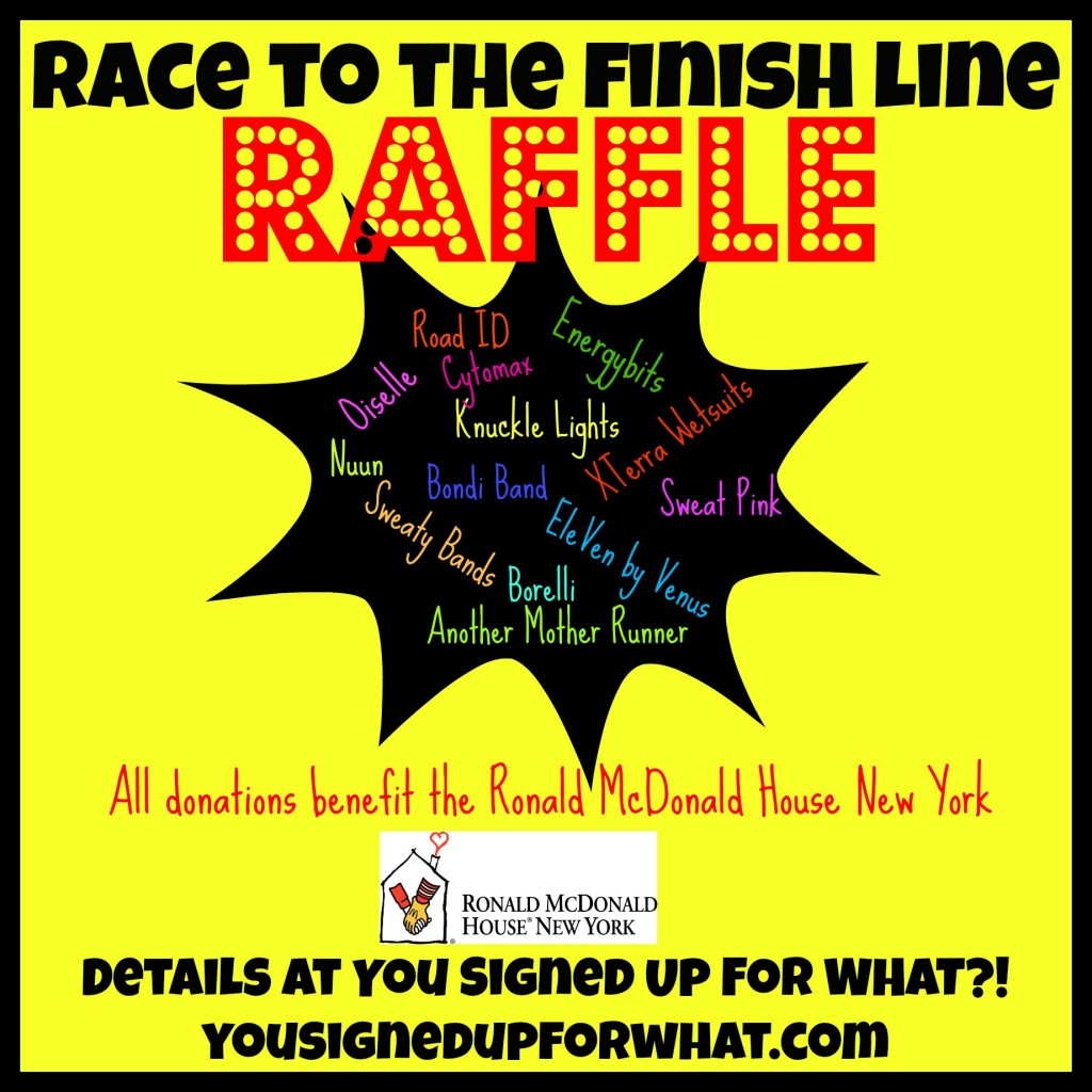 Race to the Finish Line Raffle