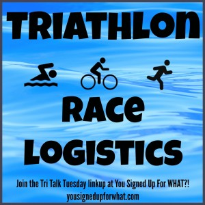 Triathlon Race Logistics