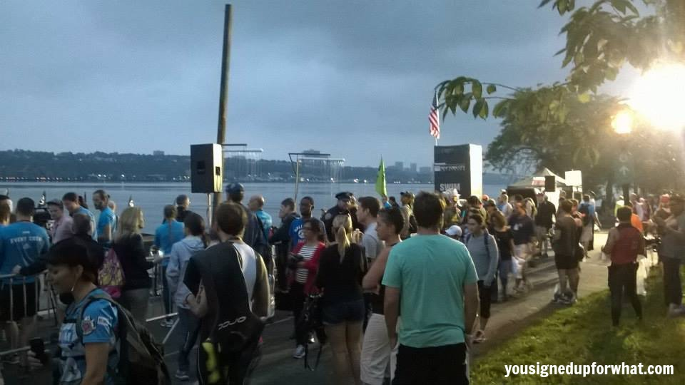 NYC Tri start corral