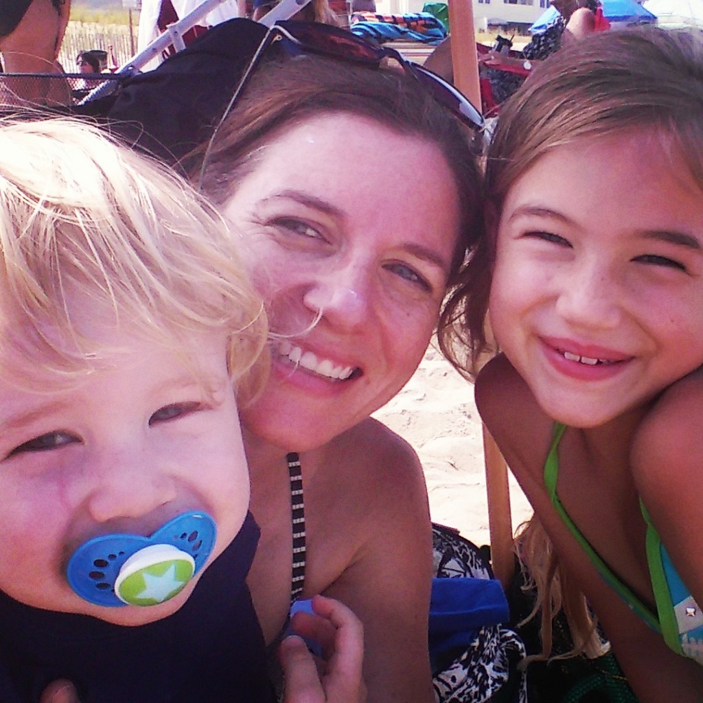Beach with kids