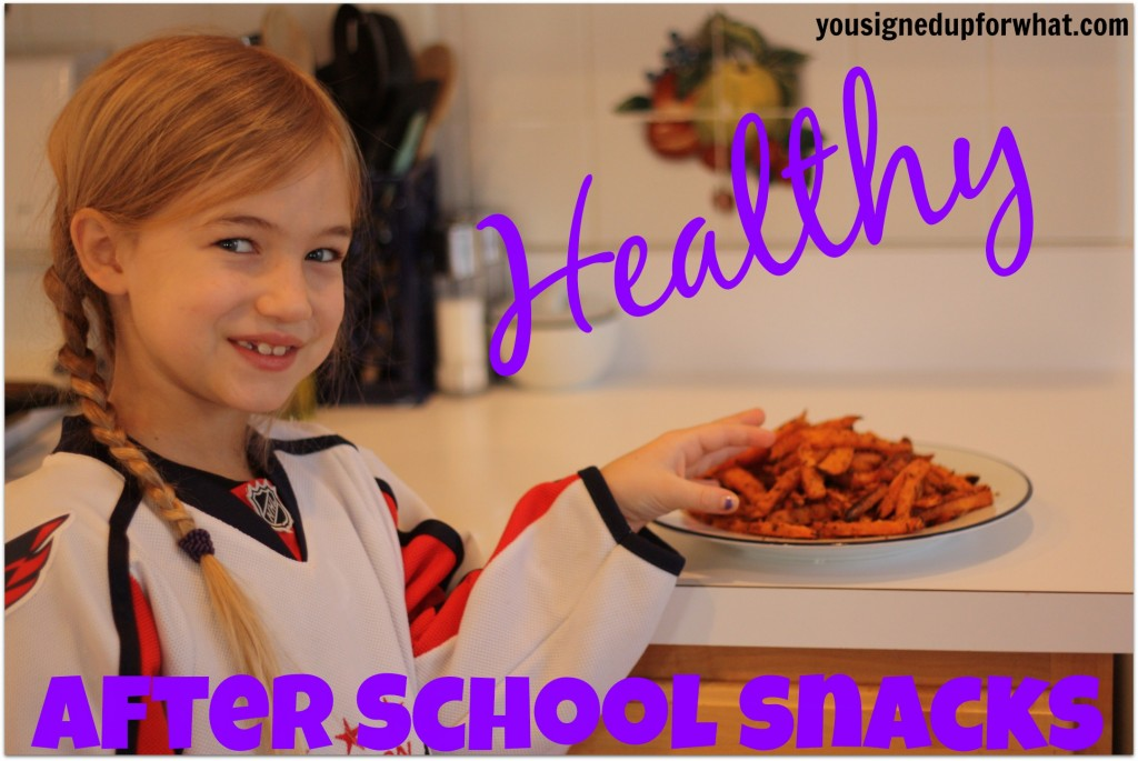 Healthy After School Snacks - a recipe collection
