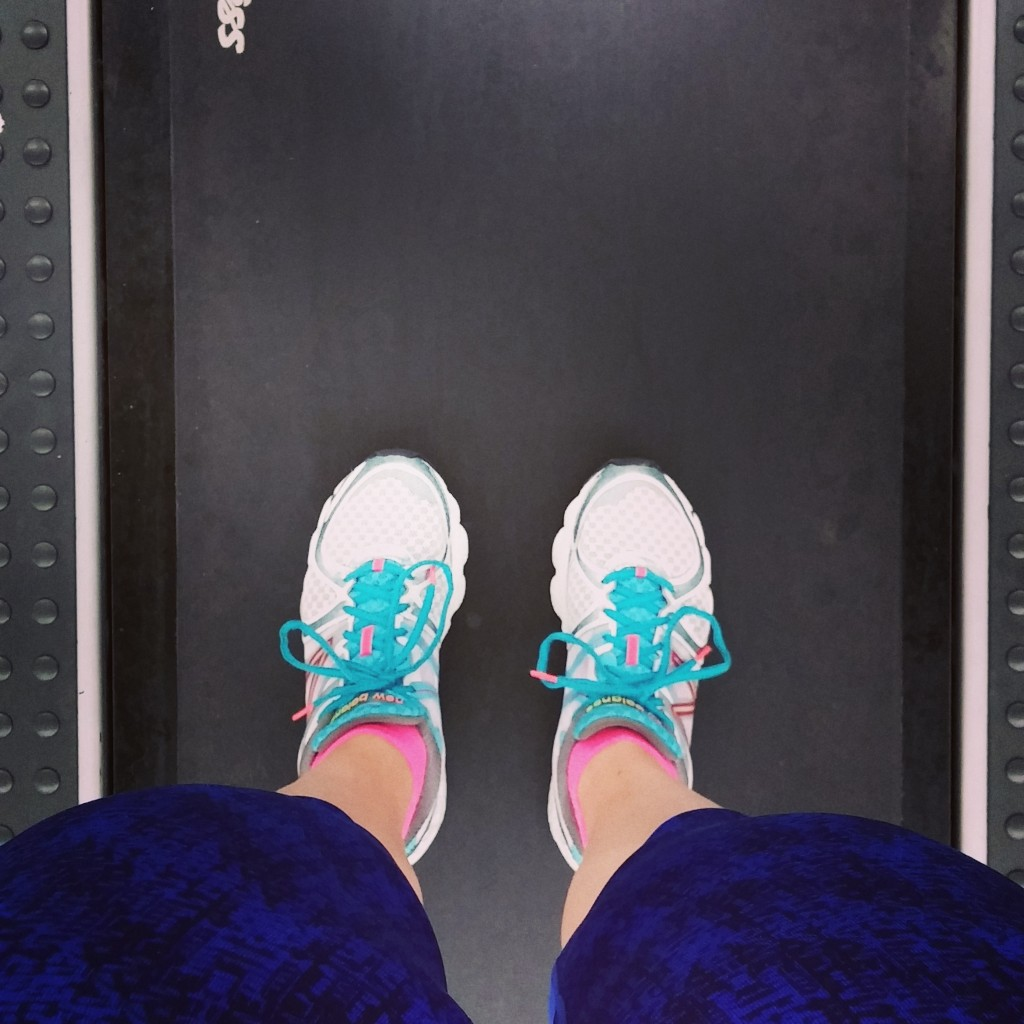 Treadmill shoes