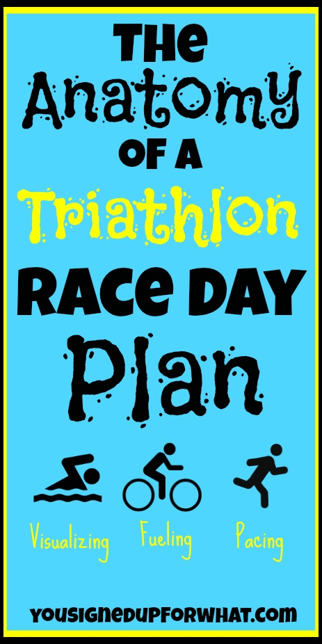 The Anatomy of a Triathlon Race Day Plan