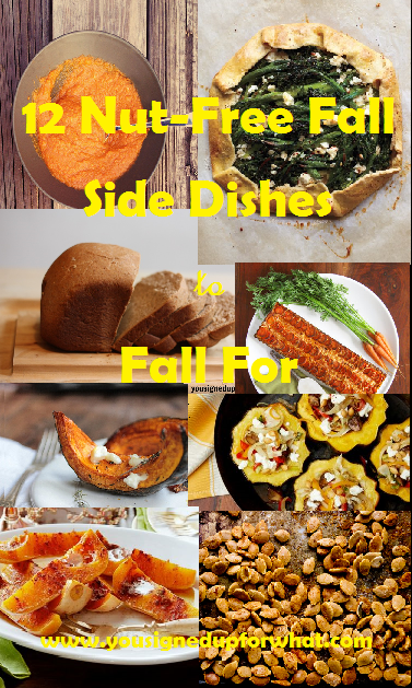 12 Nut Free Fall Side Dishes to Fall For collage