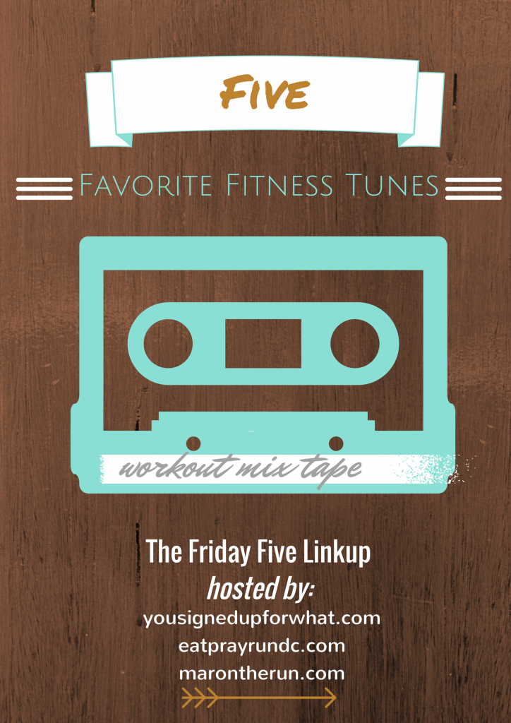 Five Favorite Fitness Tunes