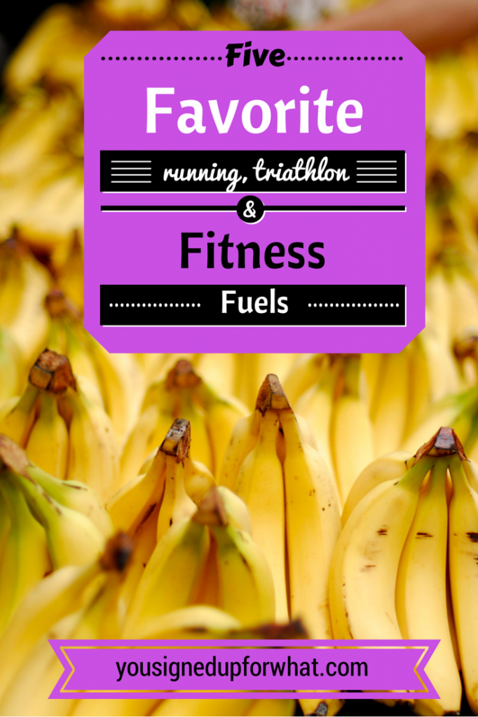 five favorite fitness fuels