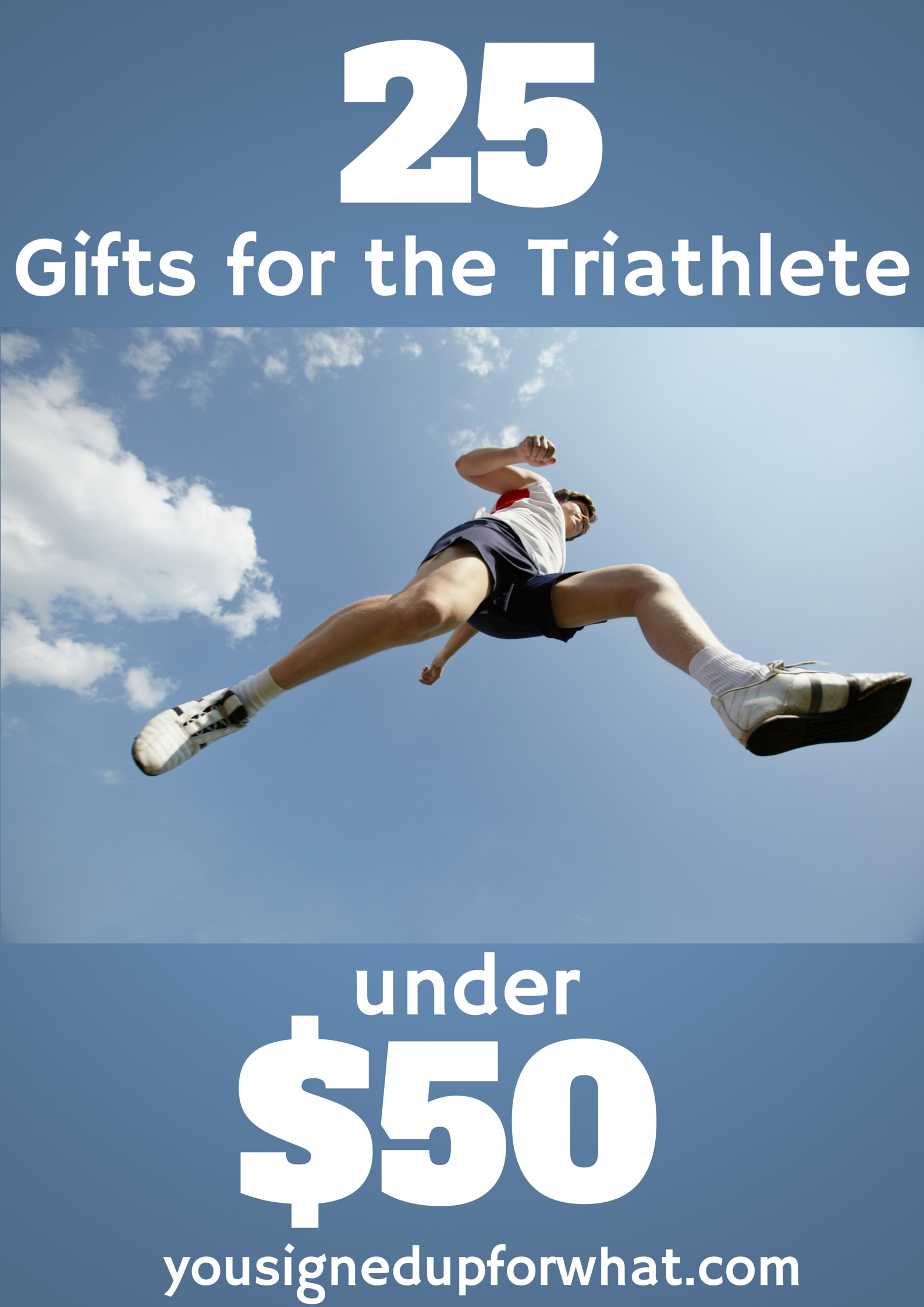 Triathlete gift guide for holiday shopping