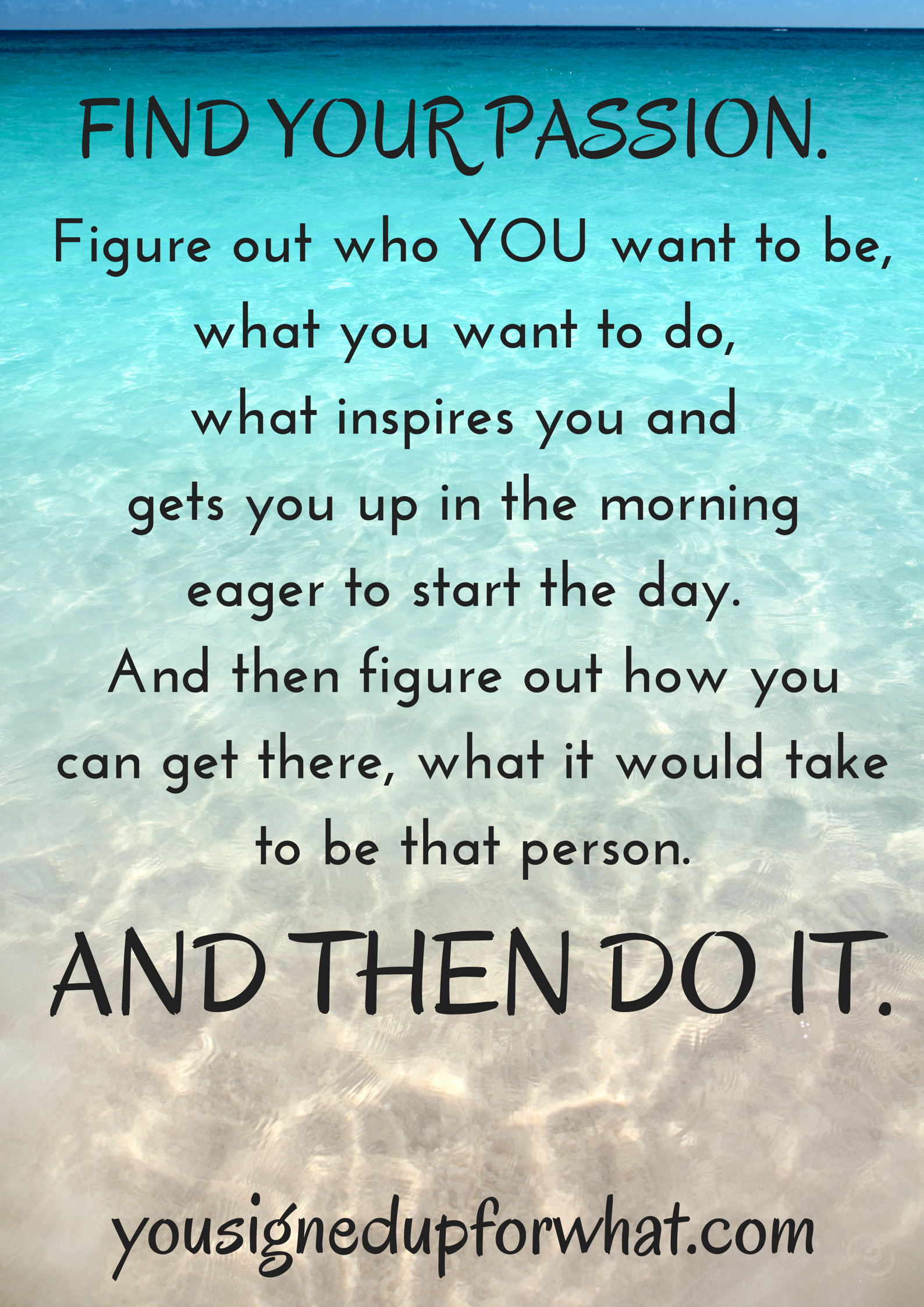 Find Your Passion: Fitness Goals Recap 2014 - You Signed Up For WHAT?!