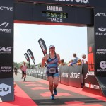 Ironman 70.3 Eagleman finish