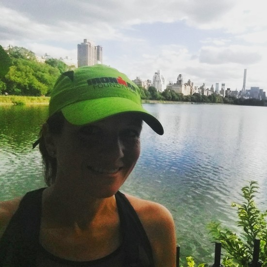 Running in Central Park NYC